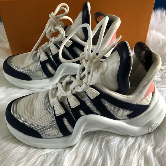 1077a7a68 Louis Vuitton Shoes | Archlight Sneakers | Poshmark